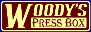 woody's press box logo