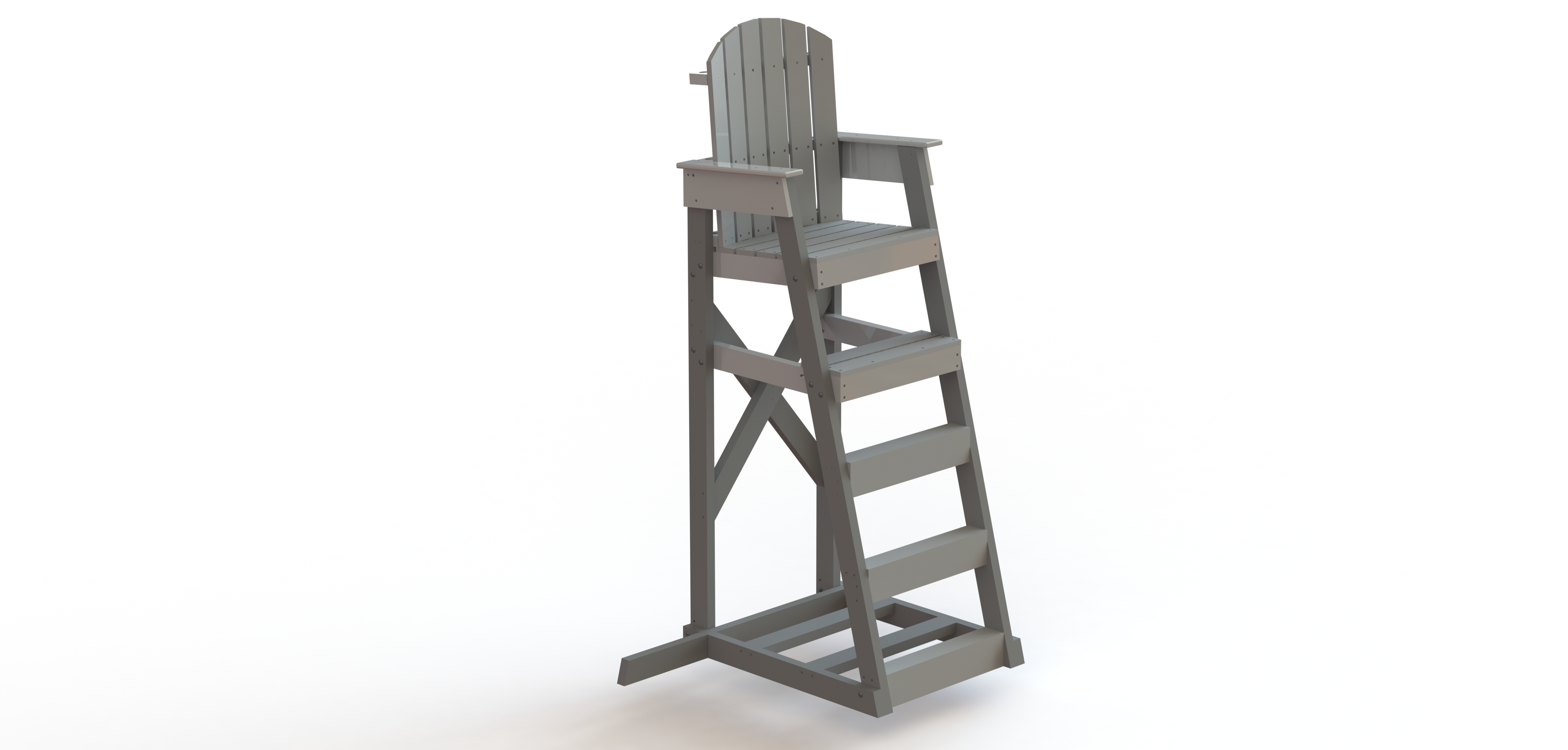 3 in one high chair plans chairs sitting area biggest crossword mendota lifeguard 5 39 recycled spectrum products