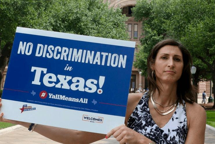 A photo of Austin transgender advocate Danielle Skidmore