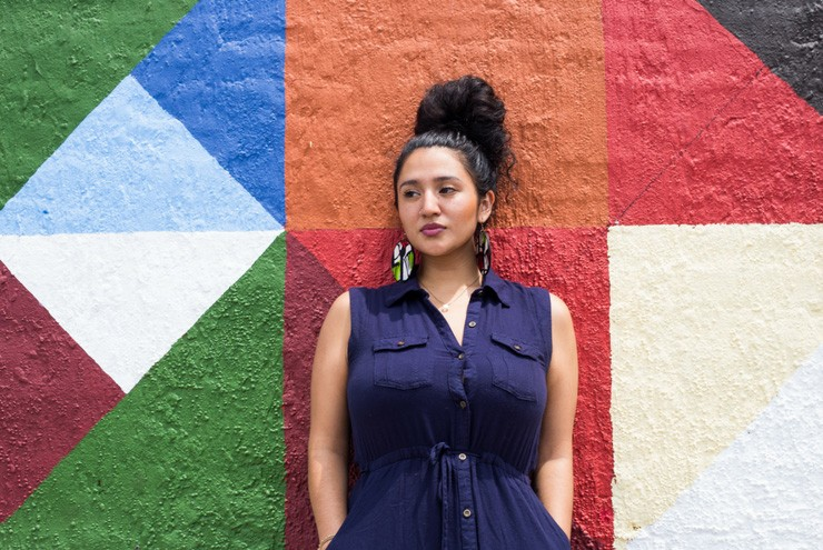 A photo of queer indigenous activist Eydka Chilomé.