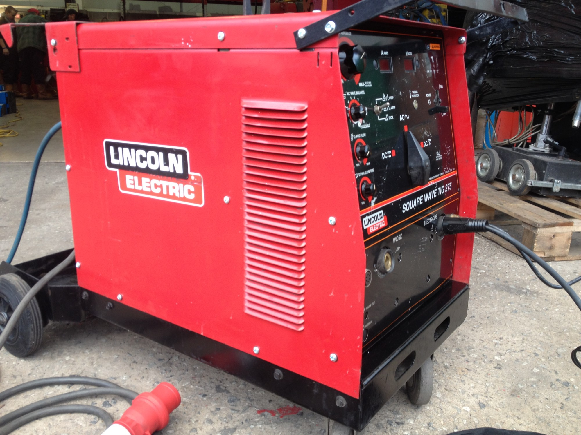 hight resolution of lincoln electric sqaure wave 275 acdc tig 2