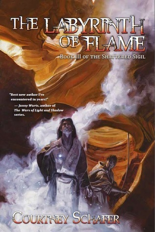 Review: The Labyrinth of Flame by Courtney Schafer