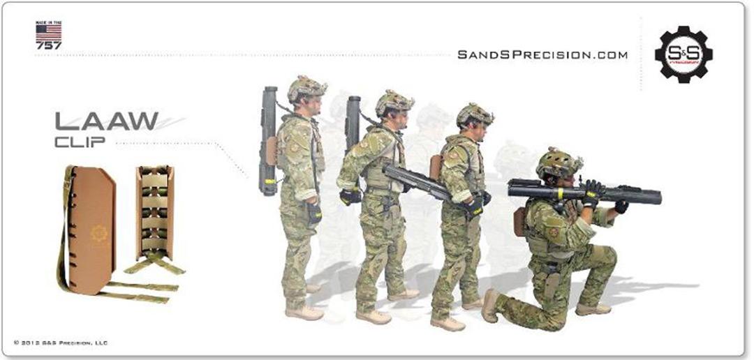 S&S Precision LAAW Clip - SPECWARGEAR.com