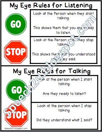 The Eye contact debate