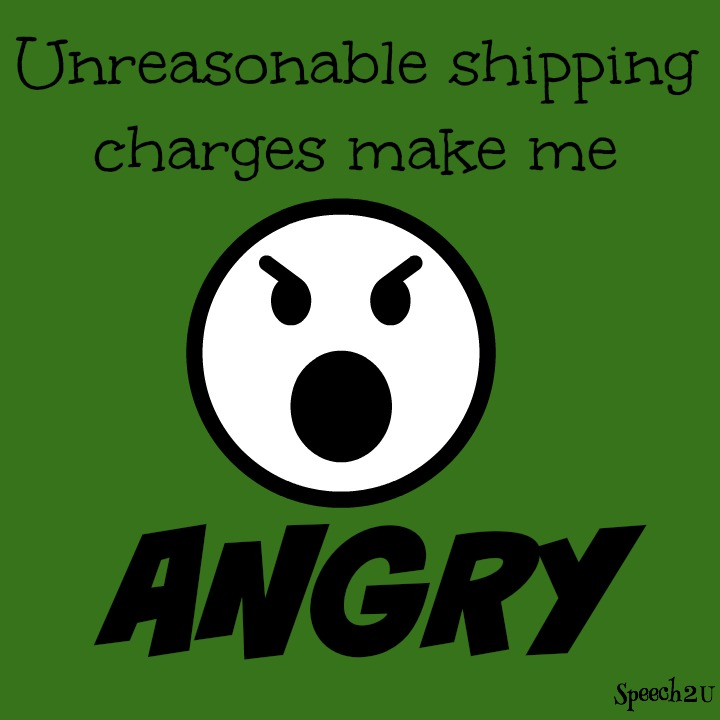 Soapbox Saturday: Confusing Shipping Charges Drive Me Crazy-Repost with an Update