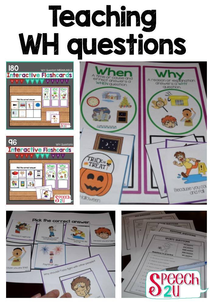 How I do it: Teaching what questions - Speech 2U