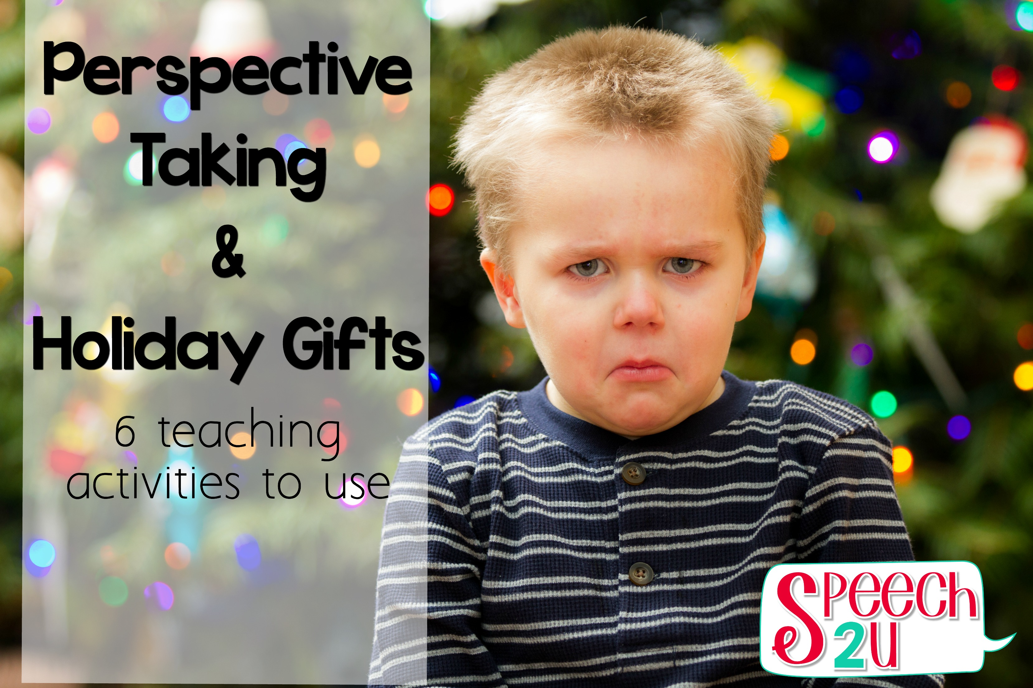 Perspective Taking and Gift Giving - Speech 2U