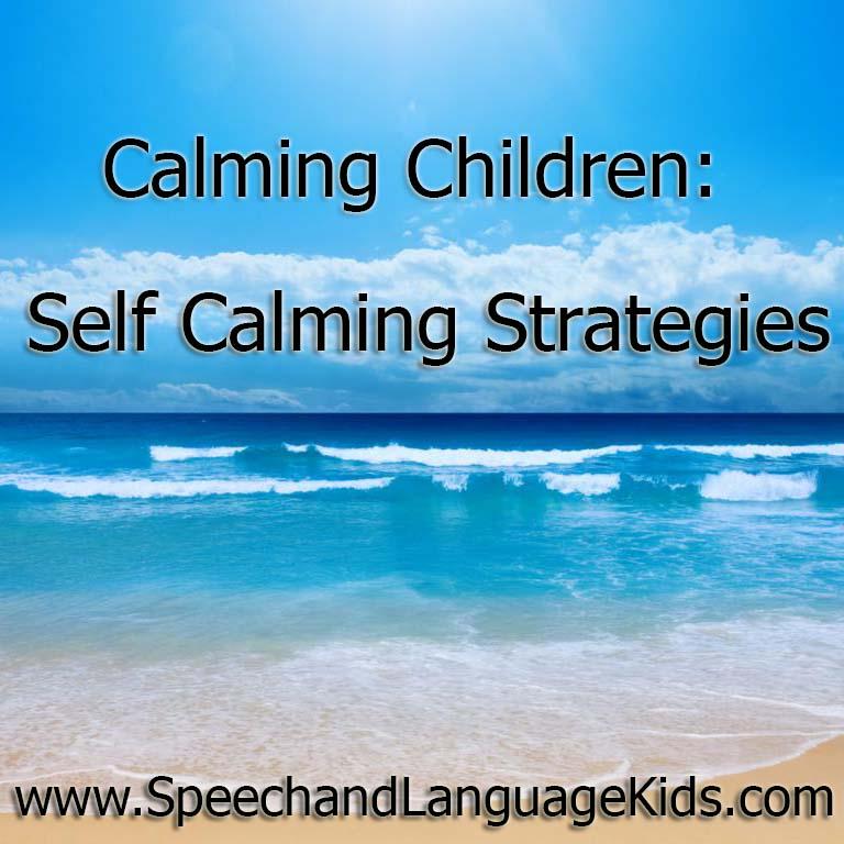 calming children self calming