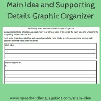 Helping Children to Identify Main Ideas and Supporting ...