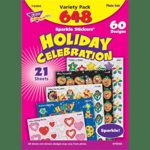 Holiday Celebration - Sparkle Stickers (648 stickers)-0