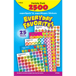 Everyday Favorites - Mini Stickers For Dot Books (2,500)-3025