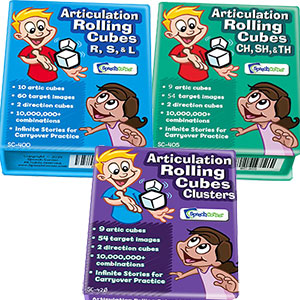 Articulation Rolling Cubes - Later Sounds 3 Combo (SC-400, 405, 420)-0