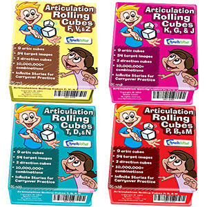 Articulation Rolling Cubes - Early Sounds 4 Combo (SC-430, 435, 440, 445)-0
