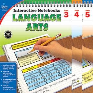 Interactive Notebooks Language Arts 3-5-0