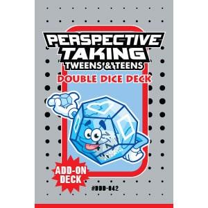 Perspective Taking Tweens & Teens Double Dice Add-On Deck-0