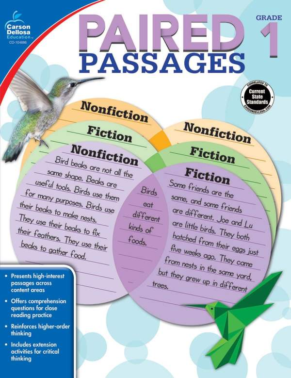 Paired Passages Grades 1-3-3667