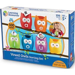 Vowel Owls Sorting Set-0