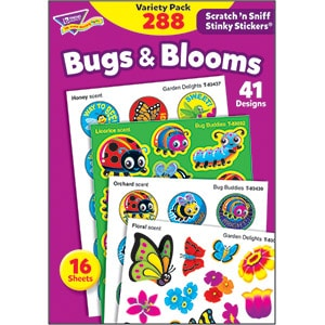 Bugs & Blooms (288 stickers)-0
