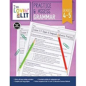 Practice and Assess: Grammar, Grades 4-5-5216