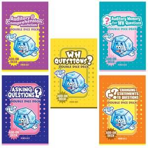 Double Dice Deck Bundle: Questions (DDD-001, 012, 013, 037, 038)-0