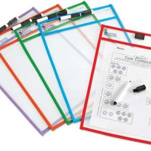 Write & Wipe Pockets-0