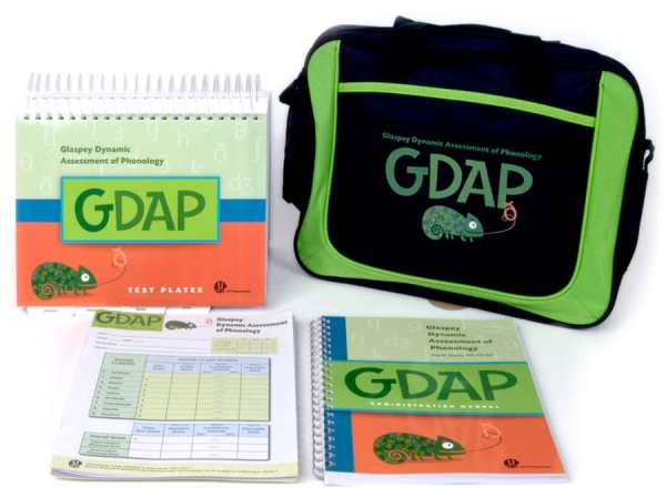GDAP Glaspey Dynamic Assessment of Phonology- Complete Kit-6205