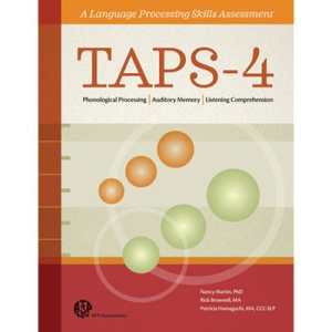 TAPS-4 A Language Processing Skills Assessment-Complete Kit-0