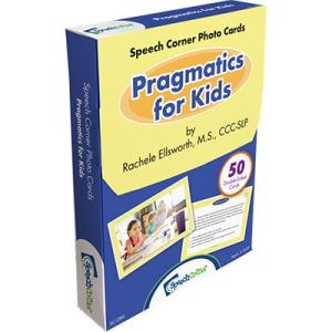 Speech Corner Photo Cards Pragmatics for Kids-0