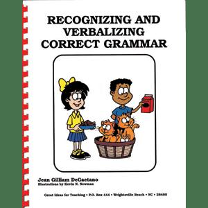 Recognizing & Verbalizing Correct Grammar-0