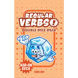 Regular Verbs Double Dice Add-On Deck-0