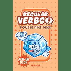 Regular Verbs Double Dice Add-On Deck-0