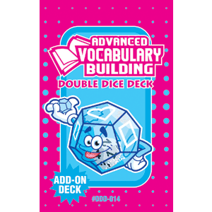 Advanced Vocabulary Building Double Dice Add-On Deck-0