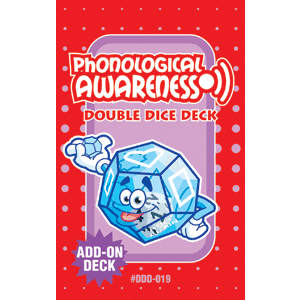 Phonological Awareness Double Dice Add-On Deck-0