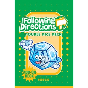 Following Directions Double Dice Add-On Deck-0