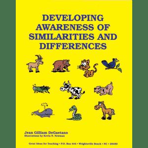 Developing Awareness of Similarities & Differences-0