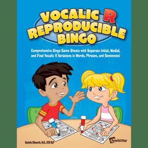 Vocalic R Reproducible Bingo-0