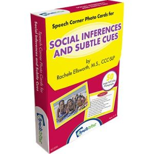 Speech Corner Photo Cards For Social Inferences & Subtle Cues-0