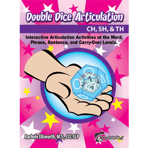 Double Dice Articulation CH, SH, & TH-0