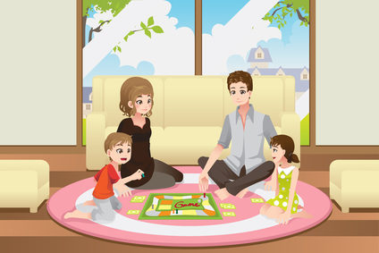 play with family
