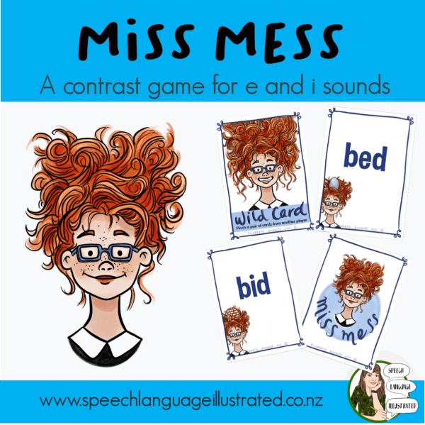 Miss Mess Card Game