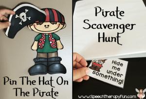 Speech Therapy Fun: Talk Like A Pirate Day