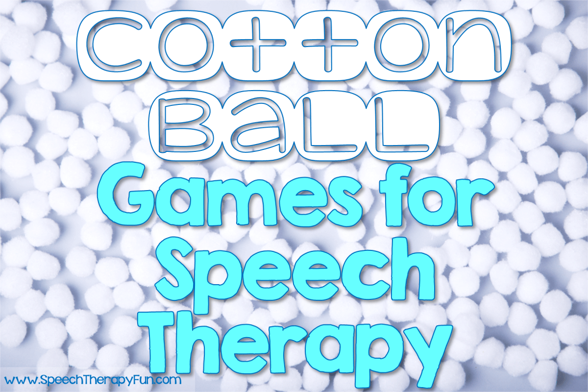 Use Cotton Balls To Engage Your Students During Winter Speech Therapy Sessions