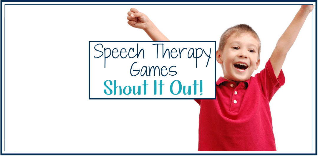 Speech Therapy Games: Shout It Out