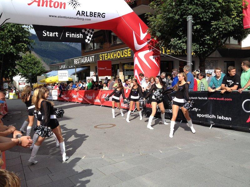 Arlberg Giro Ziel