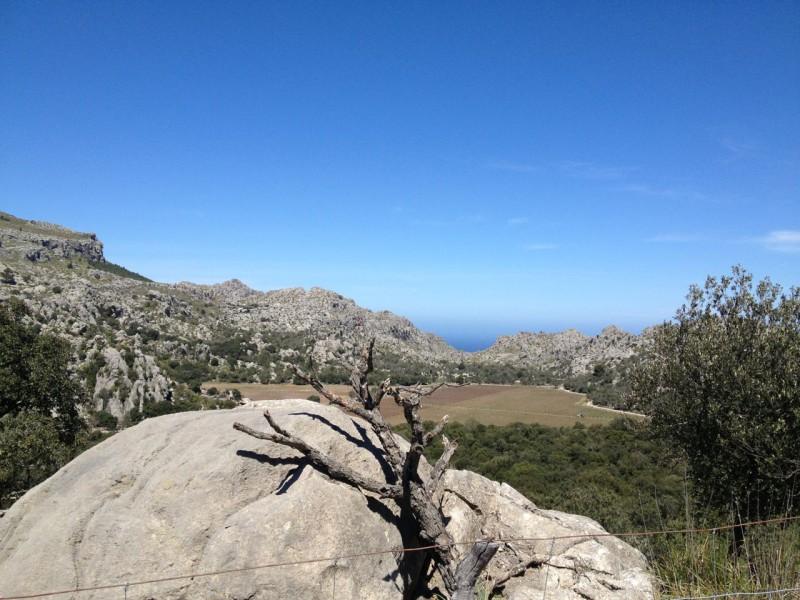 Rennrad Mallorca Tramuntana Gebirge
