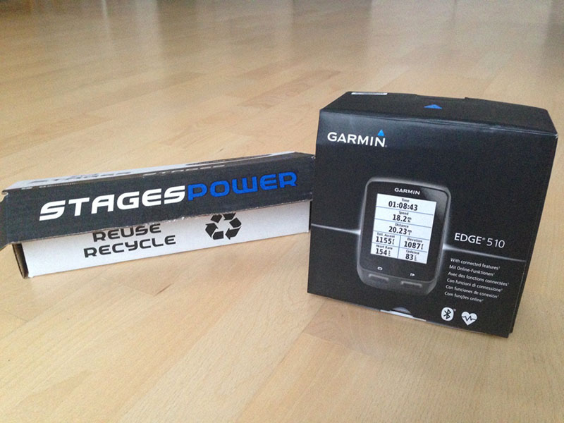 Stages Powermeter + Garmin EDge 510