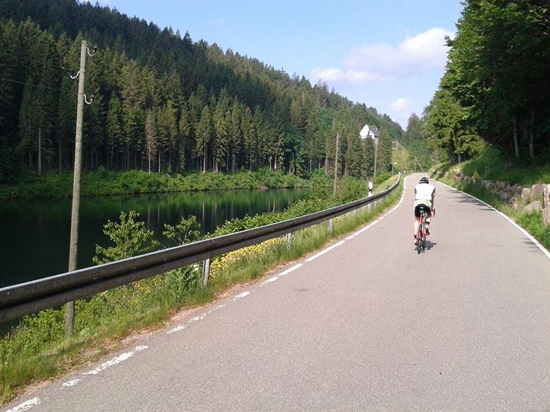 rennradflucht schwarzwald