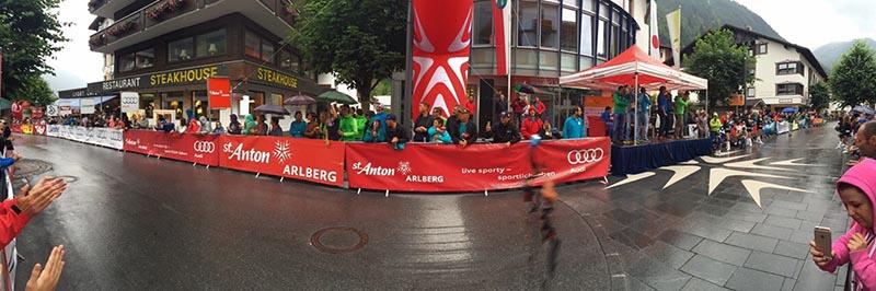 Arlberg Giro, Kriterium