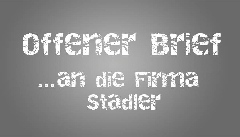Offener Brief an Stadler – Deutschlands größtes Zweirad-Center