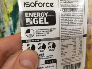 Isoforce Gel